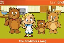Goldilocks and the three bears EYFS
