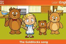 Goldilocks and the three bears EYFS