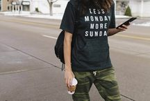 TREND TO TRY: Camo / Chic. Comfy. Casual. Cozy. How to rock camo!
