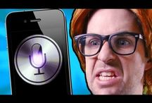 "Siri iPhone Video Parodies / Short videos of Apple iPhone's ""Siri"" in awkward situations - SIRIously!"
