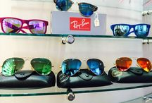 Ray Ban / The legendary RayBan lens for fashionistas!  Available from James Doyle, Opticians, Wilmslow