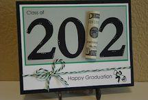Cards - Graduation / Ideas for handmade Graduation Day cards.