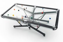 Pool Tables / Innovative & Eye Catching / by Sharyl Dybvig