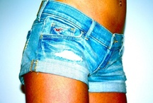 jean shorts / by Faith Powell