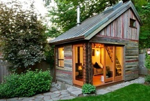 Back yard shed/office / Inspiration for replacing the old run down shed in our back yard