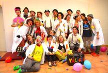 I nasi Rossi del dottor Jumba / Clown Care Unit Cesena www.aquiloneiqbal.it/progetti/i-nasi-rossi-del-dott-jumba