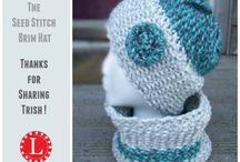 Seed Stitch Brim Hat
