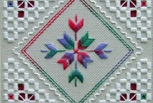 Embroidery / Hardanga,  Counted Thread, Cross Stitch
