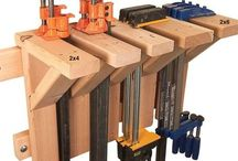 Woodworking - Clamps & Clamping / Many ideas on #clamps including DIY clamps and clamping
