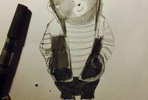 Roughs / #roughs #drawings