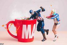 Photographer Brings Superhero Action Figures To Life