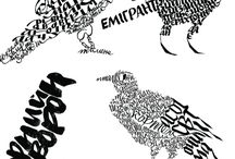 Bird Calligraphy