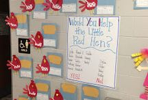 The Little Red Hen / Thematic unit / by Marie Hurley