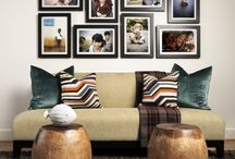 Photo Display / Cool ways to display photos at home