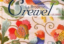 Crewel borduren