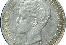 Monedas Españolas 1600 a 1900