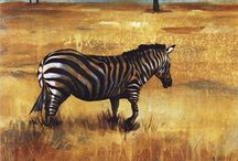 Animal Art Prints / Art prints of animals from all over the world: zebra art prints, fish art prints, farm animal art prints, baby animal art prints, elephant art prints and many more!  / by Bandaged Ear