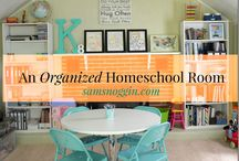 Homeschool Rooms / A lovely place for homeschool moms to get ideas and inspiration for their homeschool rooms!
