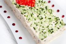 Sandwich cakes / Võileivatordid / Smörgåstårta