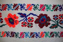decorative embroided motifs