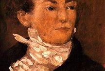 Gericault 1791-1824 Eugene Delacroix 26 april 1798 – 13 augustus 1863 / de romantische schilders
