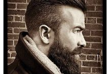 Beard and hair cut