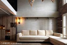 Sofa back wall design_沙發背牆設計
