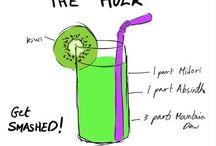 Drinks / Mmmmm yeah.