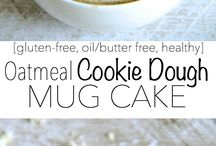 Mug Sweets / Cookies and cakes you can make & microwave in a mug!