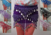 Belly Dance Hip Skirt Scarf