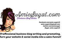 Amiesugat.com / My blog and the companies I promote!