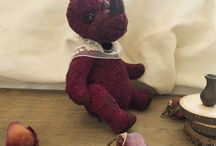 MEDWEDKO The house of the bear/MEDWEDKO Дом медвежонка / Сopyrighted toy Teddy handmade