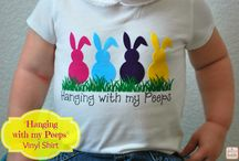 EASTER t-shirts / by Anne Charbonniez