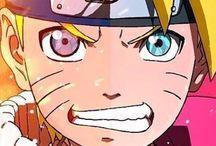 Naruto face dubble