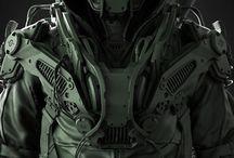 Cyberpunk, Tech, Sci-Fi