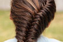 Beautiful hair braided