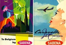 Aviation posters & memorabilia / A collection of airline-related posters and other memorabilia