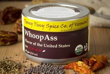 TTS Co. - Whoop@ss! / Open a can of WhoopAss to add satisfying heat with an abundance of flavor.  We have combined chilis known for flavor as well as heat with spices to create a great dry rub, or blend it with vinegar as a wet rub.  Add WhoopAss to sauces, soups and stews where you want a boost.