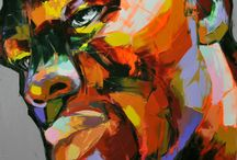 Ethnic face / Oil