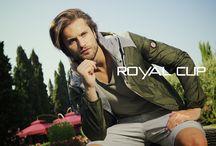 Nuova Collezione P/E firmata Royal Cup / Capi spalla maschili sempre comodi e di tendenza...perché anche l'uomo ha il diritto di essere un pò vanitoso!