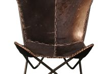 * leather / chair
