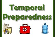 Temporal Preparedness / Being prepared temporally for an emergency is having things gathered and prepared that affect us temporally in this life. Things like:  Water storage and purification, Food storage and prep, Medical and first aid and medication needs, clothing, shelter and fuel, Tools, hunting gear, and weapons. These are things that seem most immediate to our survival, and often what we focus on the most when we begin to prepare.