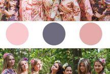 Blush Themed Wedding / Blush Wedding Color Scheme - Some inspirations for Blush Wedding Palette
