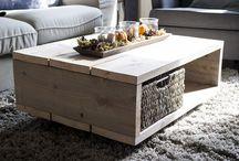 Inrichting - meubels / Inrichting - meubels - steigerhout