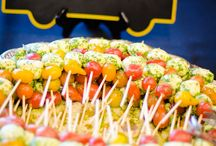 wedding finger food/buffet
