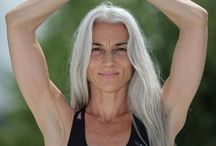 Silver Lining / Naturally Gray Haired Women. I can't wait til I turn gray