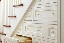 White Staircases
