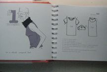Costume shirts / Libro de playeras. Shirt diy book