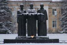 Памятники и народные названия
