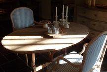 Winetables/Wijntafels/Table de Vigneron